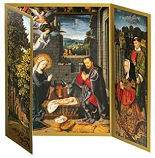 Christmas Cards Greeting Cards Religious Christian Holiday Cards Boxed Set The Nativity Triptych