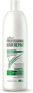 Hair Repair Shampoo Idratante rigenerante con Olio di Argan 1000ml, per capelli porosi e strutturalmente danneggiati