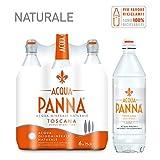 ACQUA PANNA, Acqua Minerale Oligominerale Naturale 75cl x 6....
