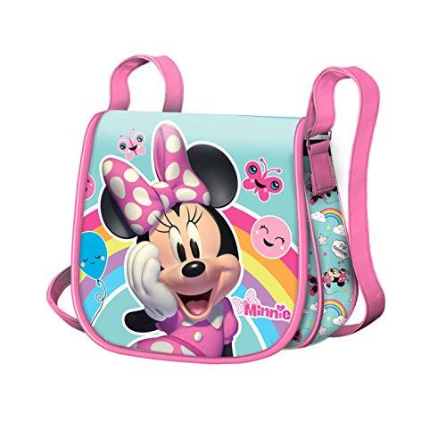 KARACTERMANIA Bolso Minnie Mouse Rainbow-Sac à...