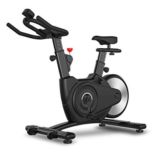 LIANGANAN Bici di Esercizio di Federa, Esercizio di Controllo Magnetico Bike Bike Bike Bike Cycling Cycling Cycling Controlled Magnetico per Tutti zhuang94 (Color : Black)