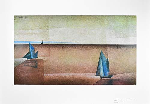 Germanposters Lyonel Feininger Regenklarheit Poster Kunstdruck Bild 67x98cm