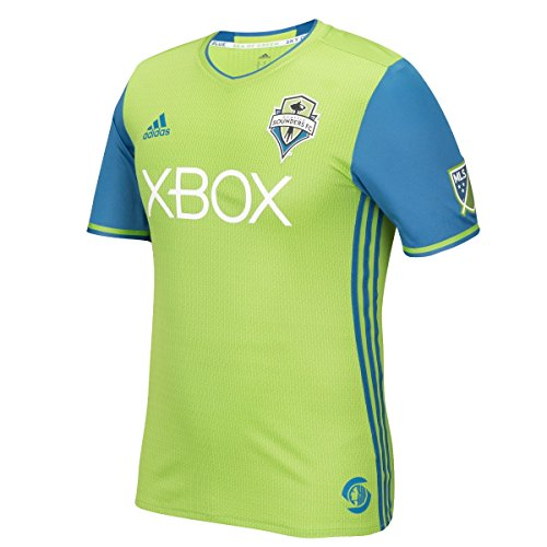 adidas Seattle Sounders MLS Men's Authentic On-Field Climalite S/S Jersey