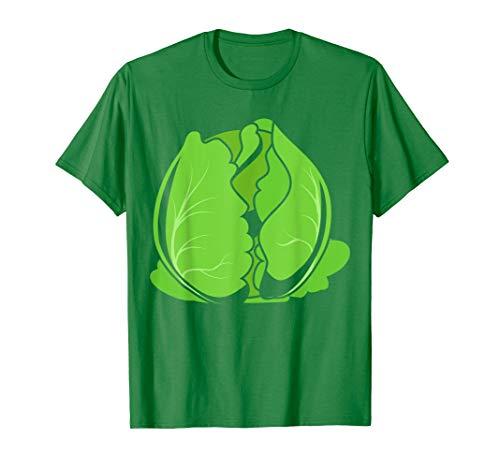 Big Kohl Kostüm Süßes Lustiges Gemüse Halloween Geschenk T-Shirt