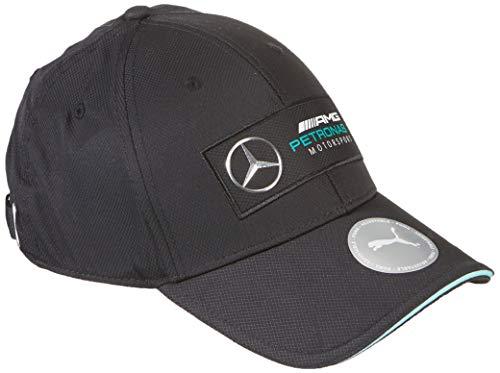 PUMA Unisex Mercedes Silver Arrows Baseballcap Baseballkappe, Black, Einheitsgröße