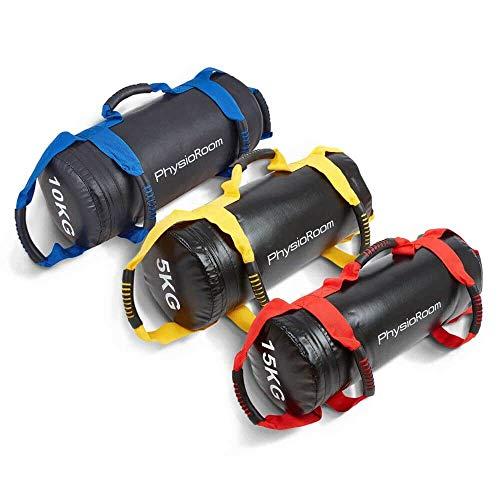 Fitness Tasche & Box Tasche Sand Gefüllt, Ideal für Zirkeltraining - Robuste Sporttasche mit Griffen - Ideal zum Kalorienverbrennen, Muskelaufbau & Beweglichkeit - Perfekt auch für Boxing & MMA