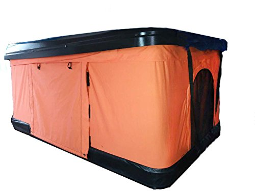 TMB Green Pop Up Roof Overland Tent Universal for Cars Trucks SUVs Camping Travel Mobile