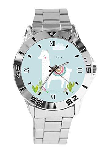 Reloj de Pulsera analógico con diseño de Alpaca de Dibujos Animados y...