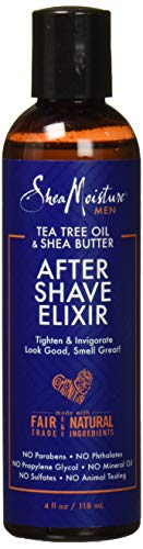 SheaMoisture Elixir After Shave, 4 Fluid Ounce