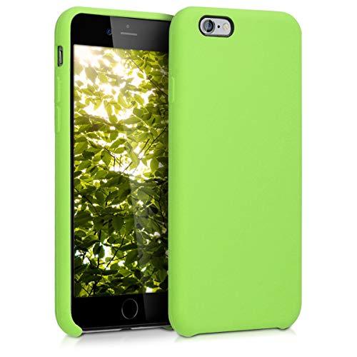 kwmobile Cover Compatibile con Apple iPhone 6 / 6S - Cover Custodia in Silicone TPU - Back Case Protezione Cellulare Verde