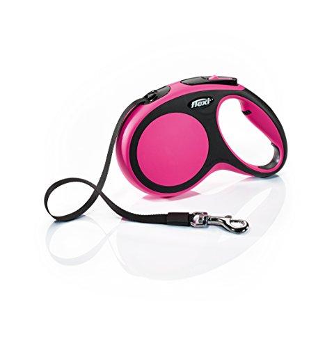 FLEXI CF20T5.250.P Hundeleine, einziehbar, 4,6 m, Medium, Pink, Pink