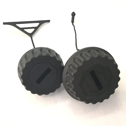 Fuel Cap and Oil Cap Lids for STIHL 088 066 MS650 MS660 Chainsaw