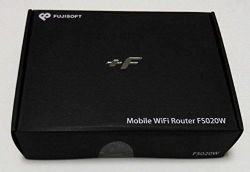 『富士ソフト モバイルWiFiルーター +F FS020W マットブラック』のトップ画像