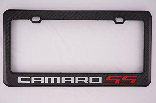 None Chevy Camaro SS Carbon Fiber License Plate Frame