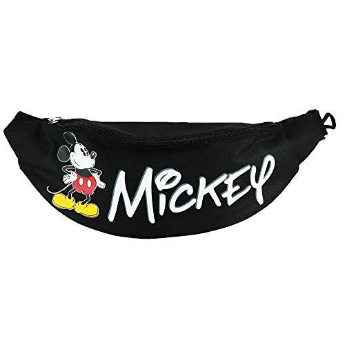 Disney mickey mouse hüfttasche, schwarz