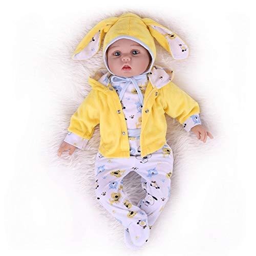 Reborn Baby Doll 22 Pulgadas Wei Ghted Cute Boy HolidayRealistic New Born Girl