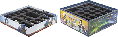 Feldherr Foam Tray Set Compatible with Krosmaster Arena And Expansion Frigost Board Game Boxes