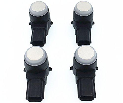 HZTWFC 4PCS Car Parking Radar 25961316 0263003912 Wireless Parking Sensor Radar Detector Compatible for Cadillac - Buick Lucerne Chevy