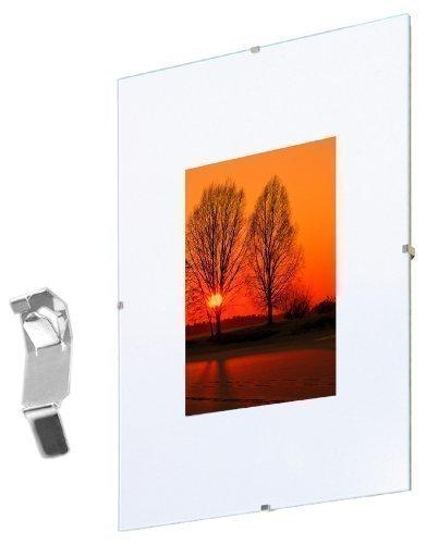 Fotolijst Randloos 30x40 cm, pak van 10, frameloze fotohouder
