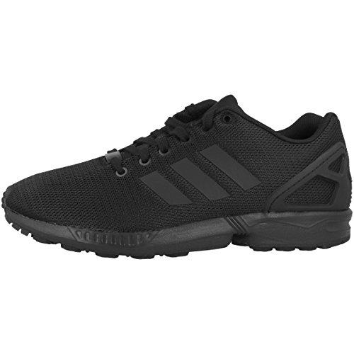 Adidas Zx Flux, Scarpe da Corsa Unisex Adulto, Nero (Core Black/Core Black/Dark Grey), 43 1/3