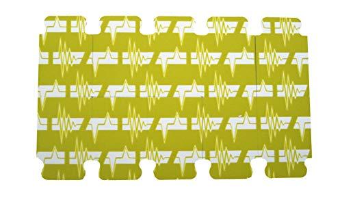 Fiab F3001ECG - Electrodos de sello revelados desechables para ECG, 23 x 34 mm