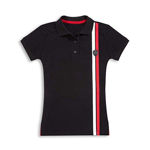 Ducati Damen Poloshirt Shield schwarz Größe XL