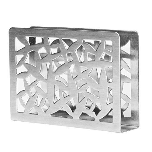 litulituhallo Distributeur de serviettes en acier inoxydable pour table de salle à manger
