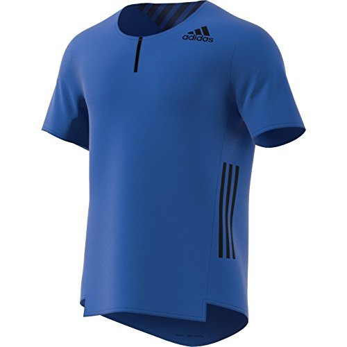 adidas AZ SS tee M Camiseta de Manga Corta, Hombre, Azul, S