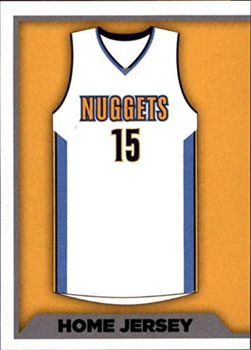 2015-16 Panini Stickers #270 Denver Nuggets Home Jersey