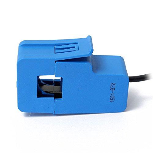 Quickbuying 30A SCT-013-030 Sensor de corriente AC no invasivo Transformador de corriente de núcleo dividido Transformador de corriente retráctil SCT 013-030
