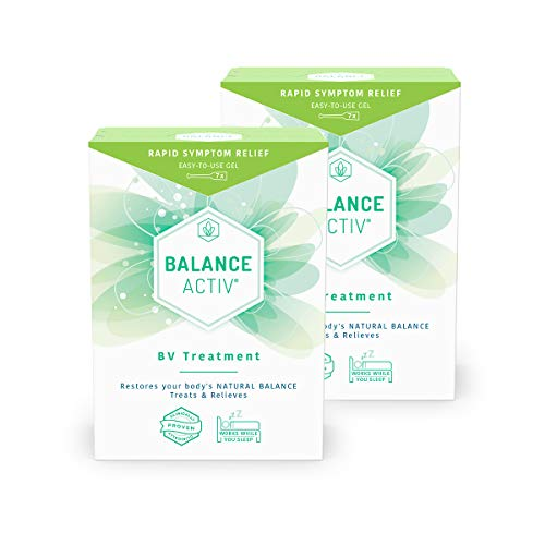 Balance Activ Gel | Bacterial Vaginosis Treatment for Women | Works Naturally to Rapidly Relieve Symptoms of Discomfort, Discharge and Unpleasant Odour Associated with BV | 2 Pack