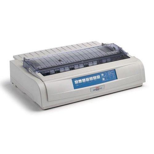 OKI 62418801 Matrix MICROLINE 421 Dot Matrix Printer (9-pin) (570 cps) (128 KB) (240 x 216 dpi) (Max Duty Cycle 17000 Pages) (Parallel) (USB) (Energy Star)