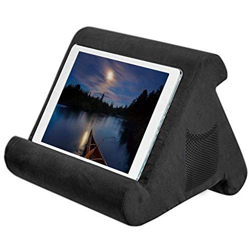 Cokeymove Support Universel pour Tablette pour Tablette iPad , Support pour Coussins Souples Multi-Angles pour lecteurs de Livres électroniques , Smartphones Livres , Magazines