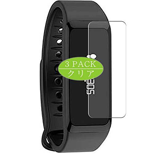 VacFun 3 Piezas Claro Protector de Pantalla, compatible con MyKronoz ZeFit 2 smartwatch Smart Watch, Screen Protector Película Protectora(Not Cristal Templado)