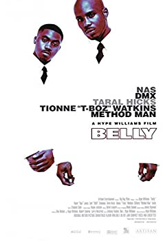 Belly Movie POSTER 27 x 40 Nas DMX Taral Hicks A MADE IN THE U.S.A.