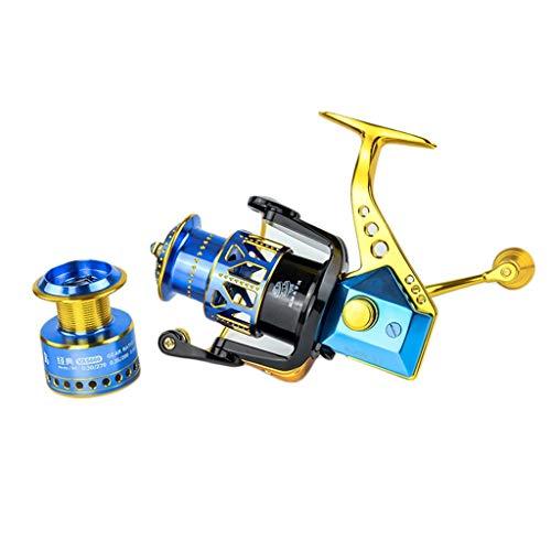 YRODYU Spinning Reel, Voorrem Dubbele lijn Cup Ergonomie Compact Krachtige Duurzame Lijn Wiel Voor Rock Vissen