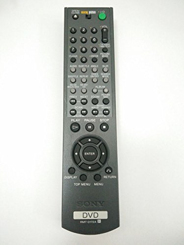 Great Deal! Original RMT-D172A Remote Control for SONY DVD Player DVPNS975V SVD1032