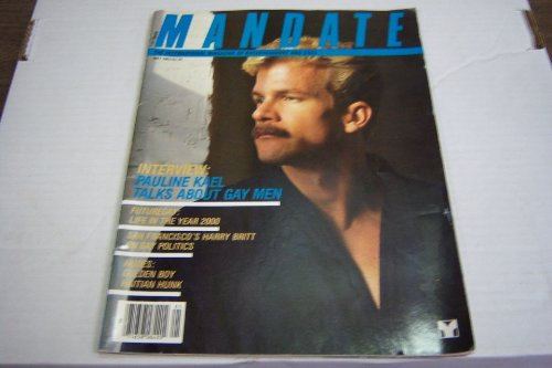 Mandate Gay Adult Magazine 'Interview: Pauline Kael Talks About Gay Men' May 1983