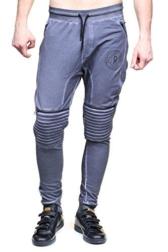 Redskins Pantalon de survêtement Boree Merlin (Gris)