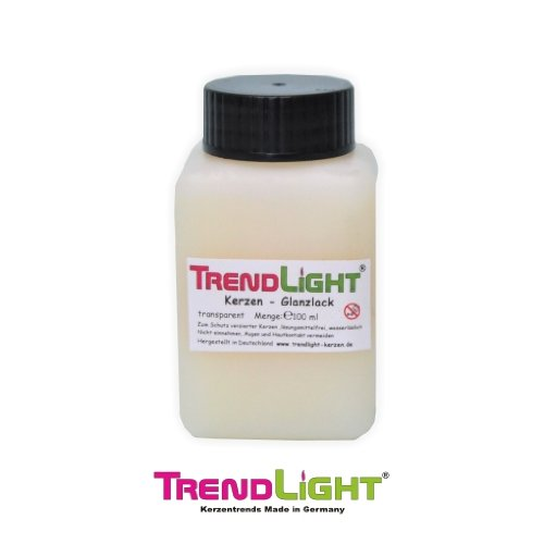 TrendLight  Kerzenlack farblos 1 Liter glänzend