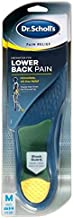 Dr. Scholl's Orthotics Lower Back Pain for Men Size (8-14) (Pack of 2)