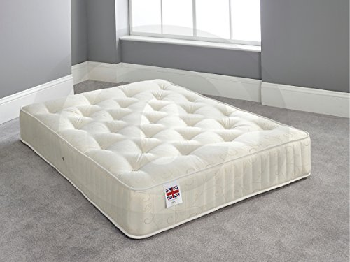 Bed Centre Moonlight Orthopaedic Mattress Built with Extra Support Features (Double)