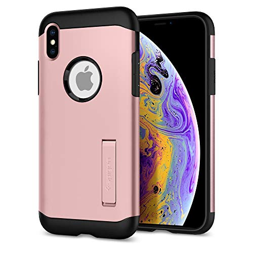 Capa para iPhone XS Armor, Cell Case, Rose Gold