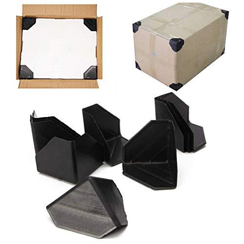 Ruesious 100 Pcs Kunststoff-Eckenschutz, Ecken- & Kantenschutz für Versandkästen zum Schutz wertvoller Möbel