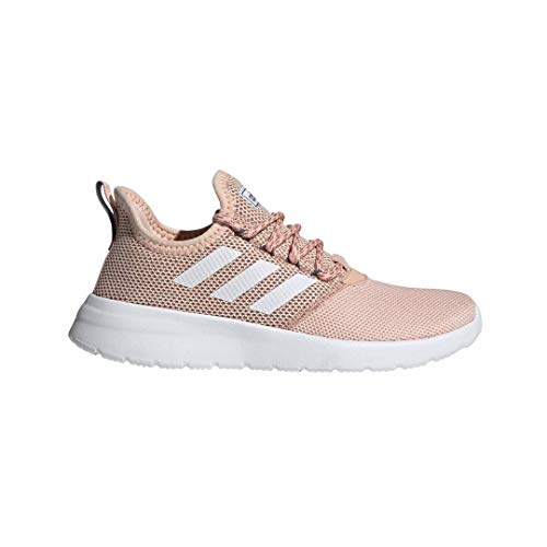 adidas Women's Lite Racer RBN Running Shoe, Glow Pink/White/Onix, 8 M US