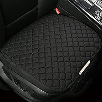 Car Seat Cover/Protector Car Seat Cushion Breathable Comfort Universal for Most Vehicles Automotive Interior Seat Protector Car Seat Cover for Men and Women  Black