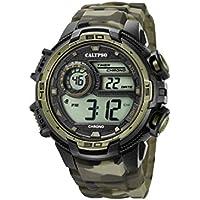 Calypso Reloj Cronógrafo para Hombre de Cuarzo con Correa en Silicona K5723/6