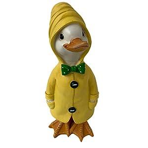 Darthome Ltd Duck Hands In Pockets Garden Sculpture Statue Decorative Ornament Figurine Gift 24cm