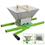 KuKoo Fruit Crusher Manual Shredder Portable Pulper Apple-Juice Making Kit Scratter Cider Wine 7 Litre