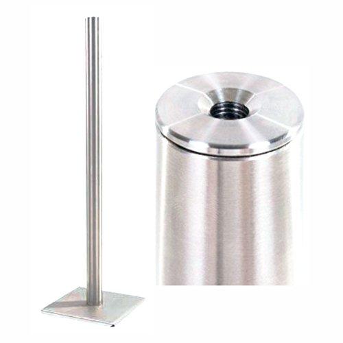 Edelstahl Standascher Design Stand-Aschenbecher Premium